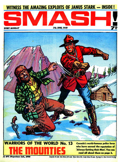 Cover for Smash! (IPC, 1966 series) #175