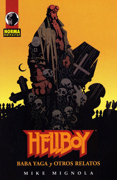 Cover for Hellboy: Baba Yaga y Otros Relatos (NORMA Editorial, 1999 series)