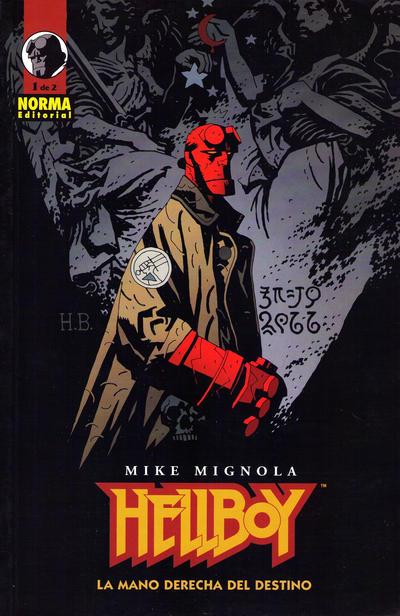Cover for Hellboy (NORMA Editorial, 2002 series) #[4-1] - La Mano Derecha del Destino 1