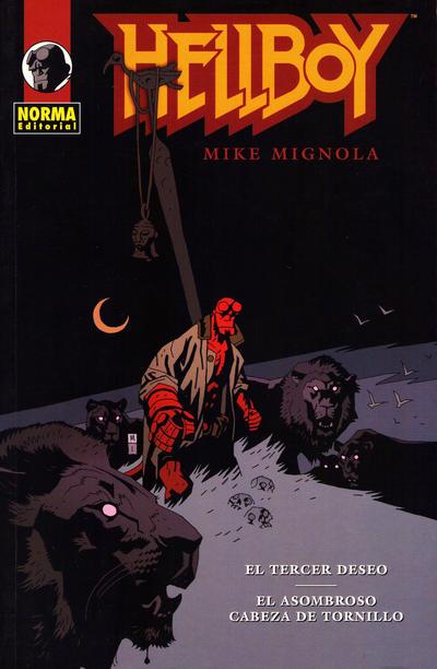Cover for Hellboy (NORMA Editorial, 2002 series) #[6] - El Tercer Deseo/El Asombroso Cabeza de Tornillo