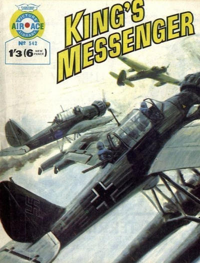 Cover for Air Ace Picture Library (IPC, 1960 series) #542