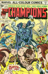 Cover for The Champions (Marvel, 1975 series) #2 [British Price Variant]