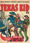 Cover for Texas Kid (Horwitz, 1950 ? series) #25