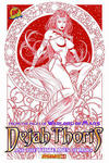 Cover Thumbnail for Dejah Thoris and the White Apes of Mars (2012 series) #3 [Dynamic Forces Brandon Peterson risqué red art variant]