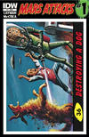 Cover for Mars Attacks (IDW, 2012 series) #1 [Card 26 variant]
