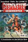 Cover for Gespenster Geschichten Sammelband (Bastei Verlag, 1974 series) #1173
