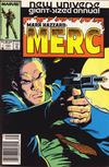 Cover Thumbnail for Mark Hazzard: Merc Annual (1987 series) #1 [Newsstand]