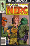 Cover for Mark Hazzard: Merc (Marvel, 1986 series) #9 [Newsstand]