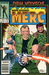 Cover for Mark Hazzard: Merc (Marvel, 1986 series) #5 [Newsstand]