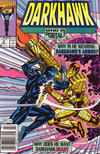 Cover for Darkhawk (Marvel, 1991 series) #5 [Newsstand]