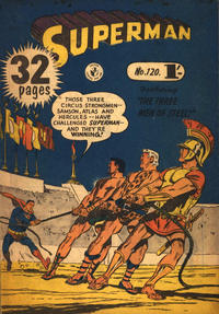 Cover Thumbnail for Superman (K. G. Murray, 1947 series) #120