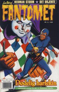 Cover Thumbnail for Fantomet (Hjemmet / Egmont, 1998 series) #13/1998