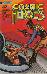 Cover Thumbnail for Cosmic Heroes (Malibu, 1988 series) #5
