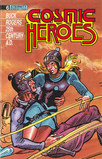 Cover Thumbnail for Cosmic Heroes (Malibu, 1988 series) #6