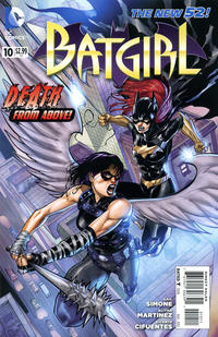 Cover Thumbnail for Batgirl (DC, 2011 series) #10
