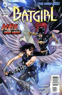 Cover Thumbnail for Batgirl (DC, 2011 series) #10