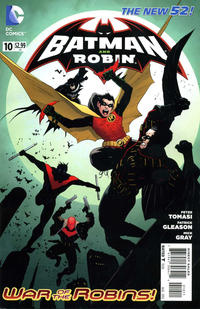 Cover Thumbnail for Batman and Robin (DC, 2011 series) #10 [Direct Sales]