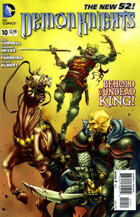 Cover Thumbnail for Demon Knights (DC, 2011 series) #10