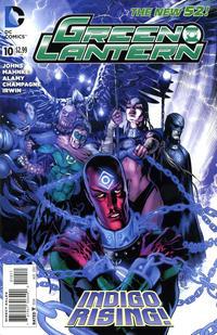 Cover Thumbnail for Green Lantern (DC, 2011 series) #10