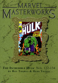 Cover Thumbnail for Marvel Masterworks: The Incredible Hulk (Marvel, 2003 series) #6 (167) [Limited Variant Edition]