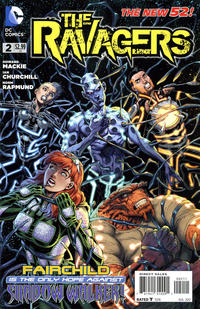 Cover Thumbnail for The Ravagers (DC, 2012 series) #2