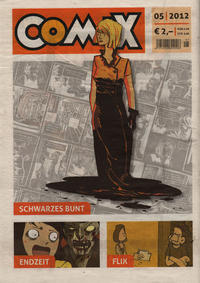 Cover Thumbnail for Comix (JNK, 2010 series) #5/2012