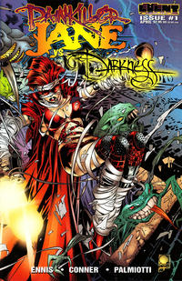 """Cover Thumbnail for Painkiller Jane vs. The Darkness: """"Stripper"""" (Event Comics, 1997 series) #1 [Quesada cover]"""