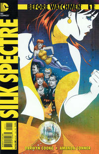 Cover Thumbnail for Before Watchmen: Silk Spectre (DC, 2012 series) #1
