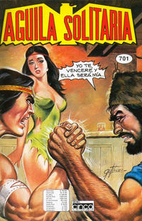 Cover Thumbnail for Aguila Solitaria (Editora Cinco, 1976 ? series) #701