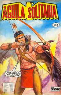 Cover for Aguila Solitaria (Editora Cinco, 1976 ? series) #653