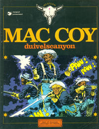 Cover Thumbnail for Mac Coy (Dargaud Benelux, 1978 series) #9 - Duivelscanyon