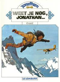 Cover Thumbnail for Jonathan (Le Lombard, 1977 series) #1 - Weet je nog, Jonathan... [Herdruk 1997]