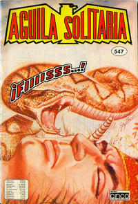 Cover Thumbnail for Aguila Solitaria (Editora Cinco, 1976 ? series) #547