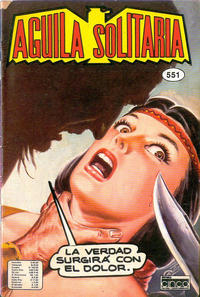 Cover Thumbnail for Aguila Solitaria (Editora Cinco, 1976 ? series) #551