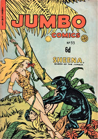 Cover Thumbnail for Jumbo Comics (H. John Edwards, 1950 ? series) #33