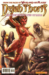 Cover Thumbnail for Dejah Thoris and the White Apes of Mars (Dynamite Entertainment, 2012 series) #3 [Alé Garza]