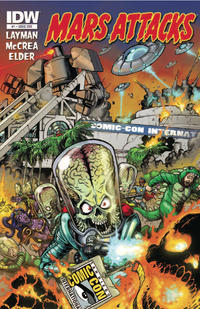Cover for Mars Attacks (IDW, 2012 series) #1 [Card 34 variant]