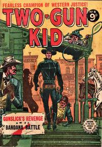 Cover Thumbnail for Two-Gun Kid (Horwitz, 1954 series) #6