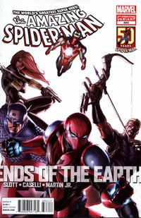 Cover Thumbnail for The Amazing Spider-Man (Marvel, 1999 series) #683 [2nd Printing Variant Cover]