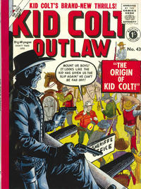 Cover Thumbnail for Kid Colt Outlaw (Thorpe & Porter, 1950 ? series) #43