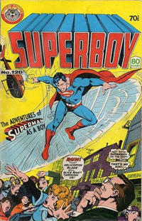Cover Thumbnail for Superboy (K. G. Murray, 1980 series) #120