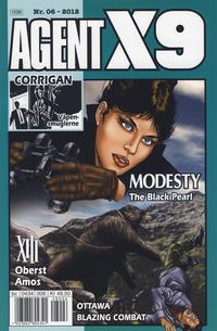 Cover Thumbnail for Agent X9 (Hjemmet / Egmont, 1998 series) #6/2012