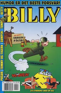 Cover Thumbnail for Billy (Hjemmet / Egmont, 1998 series) #11/2012 (11/2011)