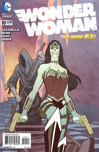 Cover Thumbnail for Wonder Woman (DC, 2011 series) #10