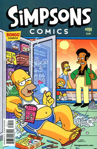 Cover Thumbnail for Simpsons Comics (Bongo, 1993 series) #191
