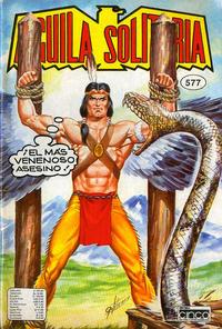 Cover Thumbnail for Aguila Solitaria (Editora Cinco, 1976 ? series) #577