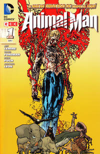 Cover Thumbnail for Animal Man (ECC Ediciones, 2012 series) #1