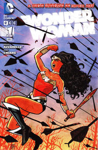 Cover Thumbnail for Wonder Woman (ECC Ediciones, 2012 series) #1