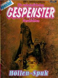 Cover Thumbnail for Gespenster Geschichten Spezial (Bastei Verlag, 1987 series) #81 - Höllen-Spuk