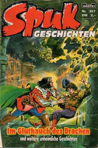 Cover Thumbnail for Spuk Geschichten (Bastei Verlag, 1978 series) #357